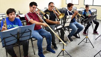 Retomó sus actividades la Orquesta del Barrio INTA de Trelew