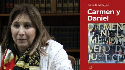 Patricia Pellegrini presenta su libro y muestra sobre los desaparecidos por la dictadura