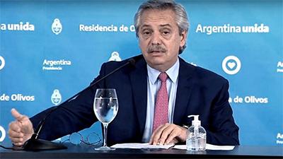 Desde Chile desmienten las cifras publicadas ayer por Fernández