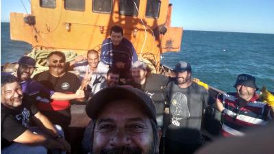 Awstin valoró la solidaridad del sector pesquero