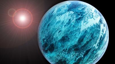 El extraño comportamiento de los planetas acuáticos