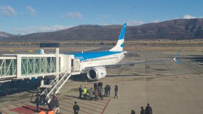 Aerolíneas confirmó 3 vuelos a Chubut