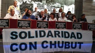 CTERA repudió los hechos de violencia institucional en Chubut