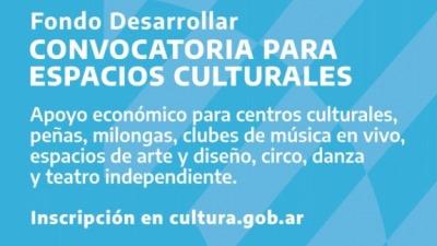 Subsidios para espacios culturales