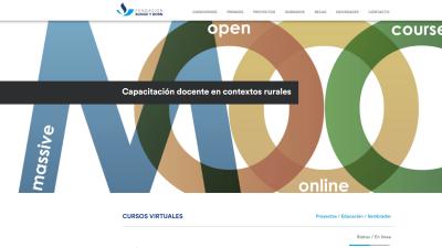 Cursos on line y aulas virtuales para docentes de contextos rurales