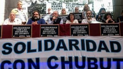 CTERA pide a Nación que exija a Arcioni pagarles a los docentes