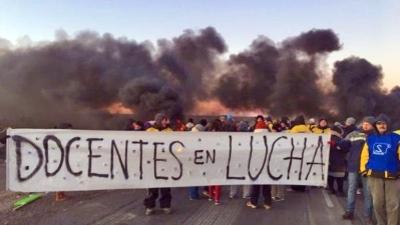 Docentes de Chubut llevan a la OIT sus reclamos salariales