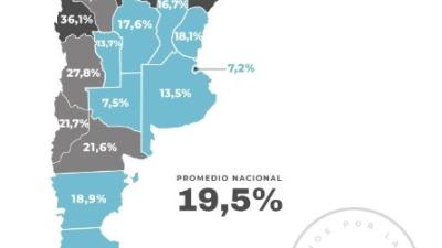 Chubut: el 18,9% de estudiantes de primaria sin acceso a internet
