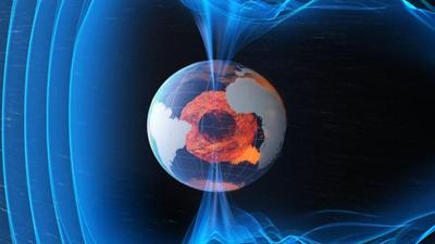¿Por qué el polo norte magnético se mueve hacia Siberia?