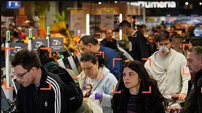 Las cámaras de seguridad ya detectan cuando alguien no lleva tapabocas