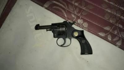 Incautan armas en allanamiento por robo