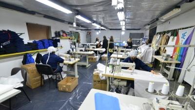 El Polo Textil elaboró 200 juegos de sábanas para el Hospital Zonal