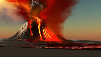 ¿Las lluvias pueden provocar la erupción de un volcán?