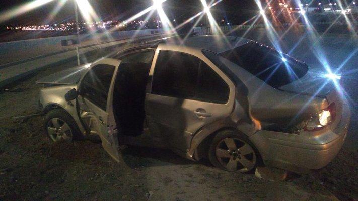 Funcionario destrozó un vehículo oficial y habría dado positivo a la alcoholemia
