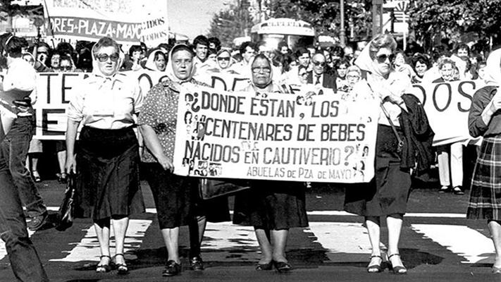 Las Abuelas de Plaza de Mayo celebrarán sus 43 años en la TV Pública