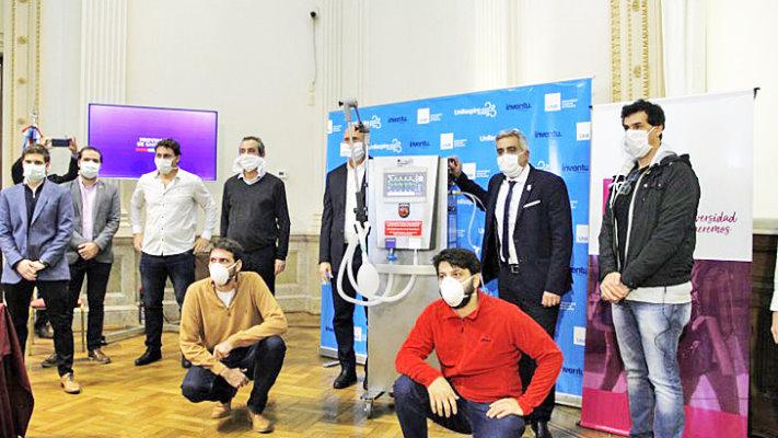Crearon el primer ventilador argentino para asistir a pacientes con COVID-19