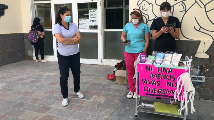 """Día de la No Violencia contra la Mujer: Piden que el barbijo """"no nos calle"""""""