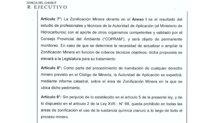 Zonificación a Legislatura