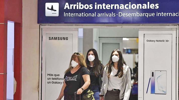 Sólo pueden ingresar turistas de los cinco países limítrofes