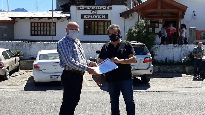 Epuyen: Firman convenio con Vialidad Nacional para obras de mantenimiento