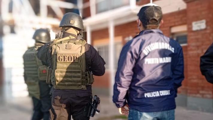 Operación «El Viejo de la Bolsa»: Desarticulan banda narco en Puerto Madryn