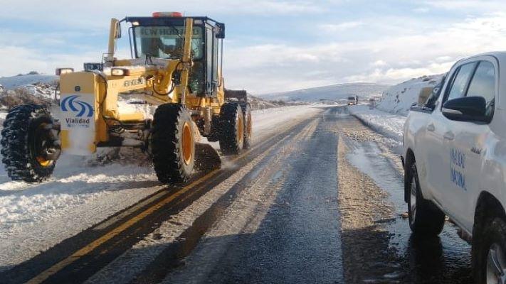 Vialidad Nacional arranca el Plan de Mantenimiento Invernal