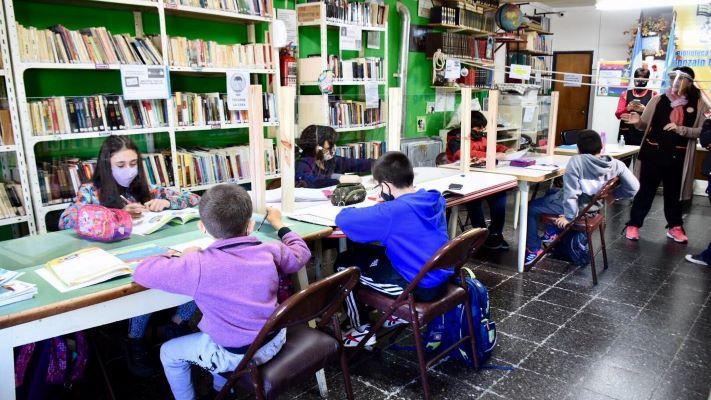 Trelew: la Biblioteca Popular Gonzalo Delfino inició las clases de apoyo escolar