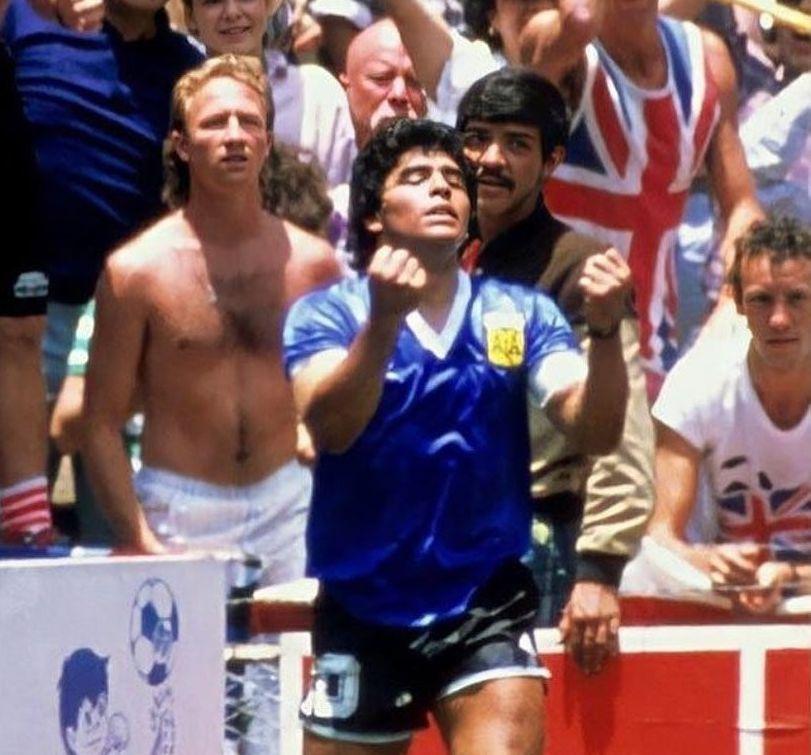Se conmemora el 2 -1 de Argentina ante Inglaterra en el Mundial de México