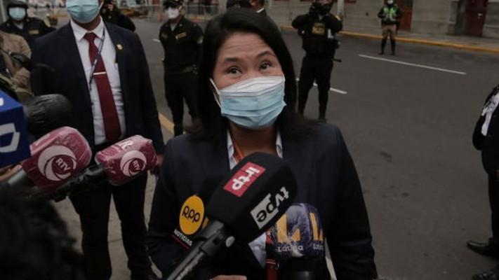 Perú: Tras perder las elecciones, piden la prisión preventiva de Keiko Fujimori