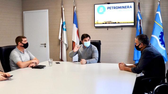 Petrominera evalúa instalar en Rawson una planta de distribución de gas envasado