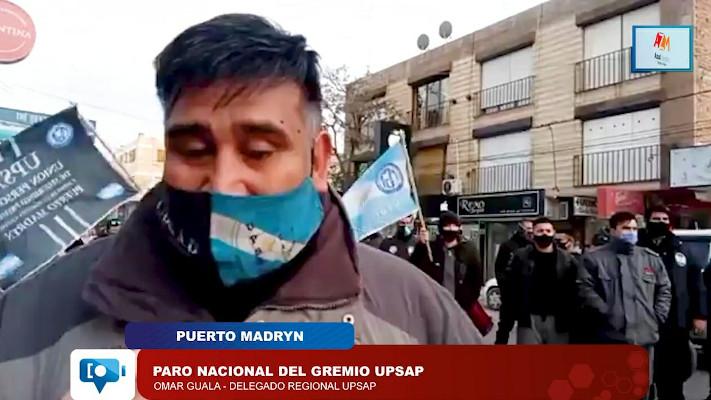 Vigiladores privados de Madryn se movilizaron y exigen aumento del 55%
