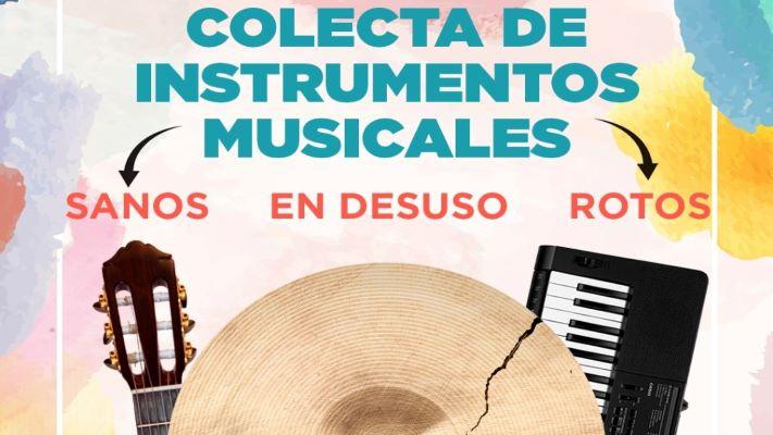 Madryn: profesores de talleres culturales realizan una colecta de instrumentos musicales