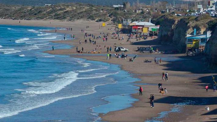 Quince mil pesos para alojarse frente al mar en Las Grutas